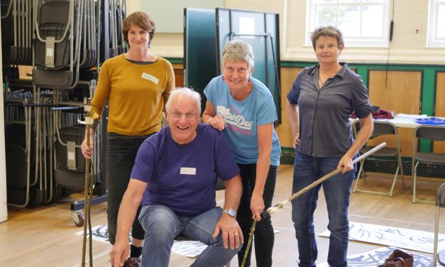 Stepping into Nature arts workshops prove popular with older people