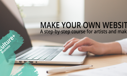 Make Your Own Website – A Step-by-Step Course for Artists and Makers