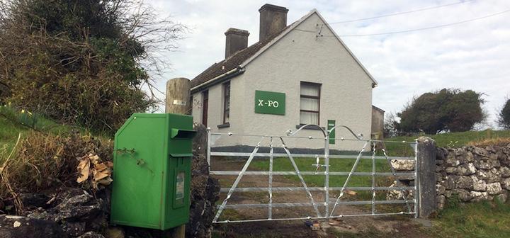 X-PO building in County Clare