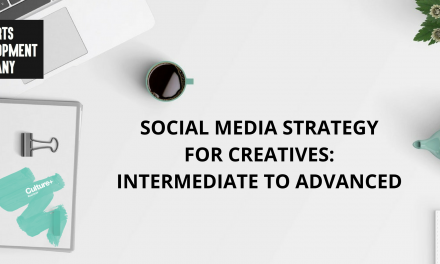 Social media strategy for creatives