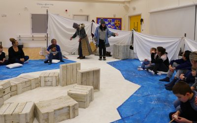 Magical theatre day at Mountjoy for children with additional needs