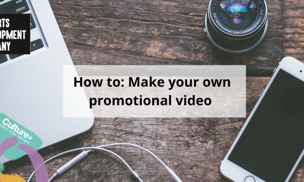 How to: Make your own promotional video