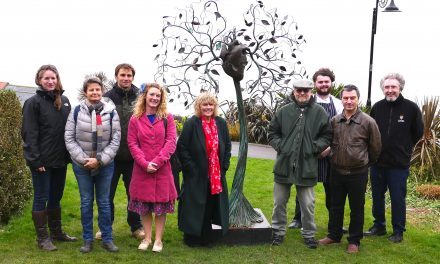 New sculptures added to Langmoor Gardens in Lyme Regis