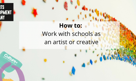 Working with schools as an artist or creative