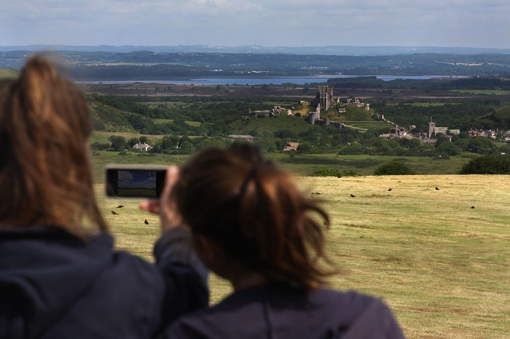 Corfe Castle, Purbeck