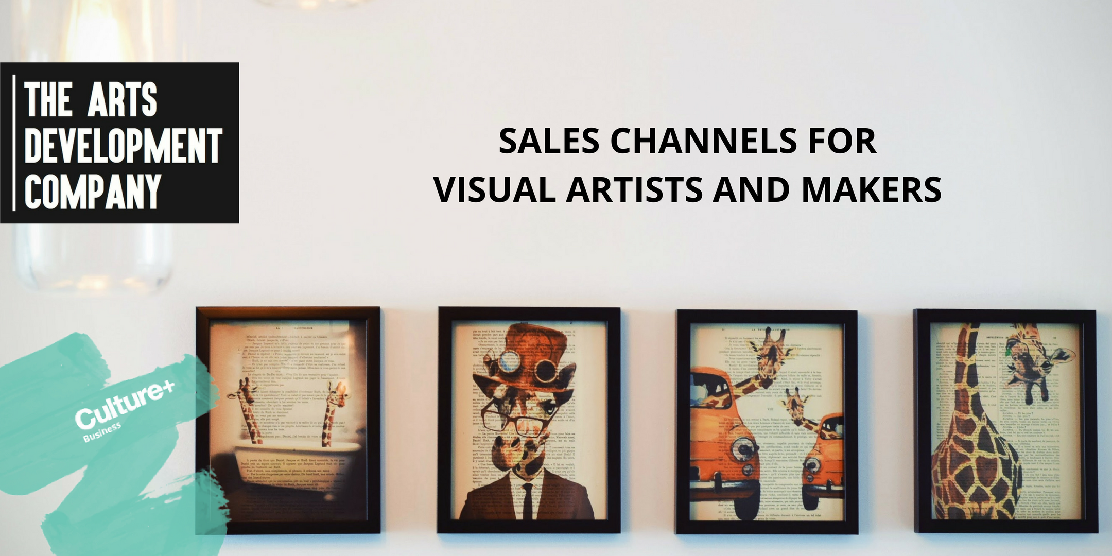 Sales channels for visual artist and makers