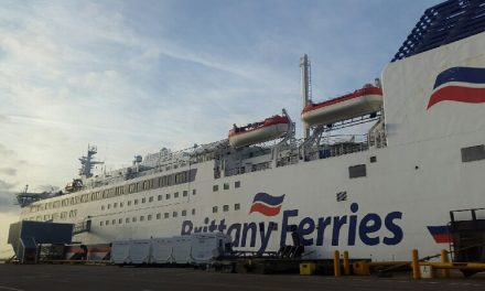 Art Exhibition on Brittany Ferry's Barfleur