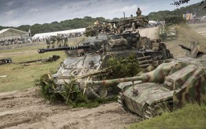 Tanks in action at Tankfest