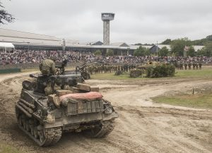 Tanks n action at Tankfest