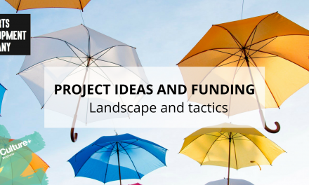 Project Ideas and Funding – Landscape and Tactics Workshop