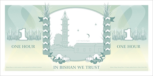 Bishan Currency - 1 hour note