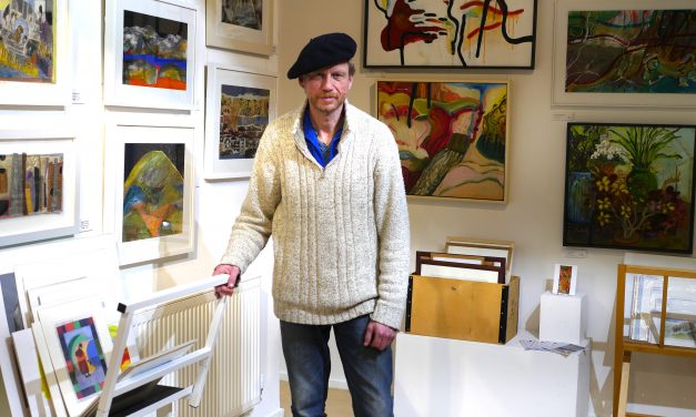 Art ahoy! Dorset artists' work displayed on Barfleur