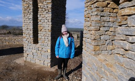 Charlotte is young star of South Dorset Ridgeway film