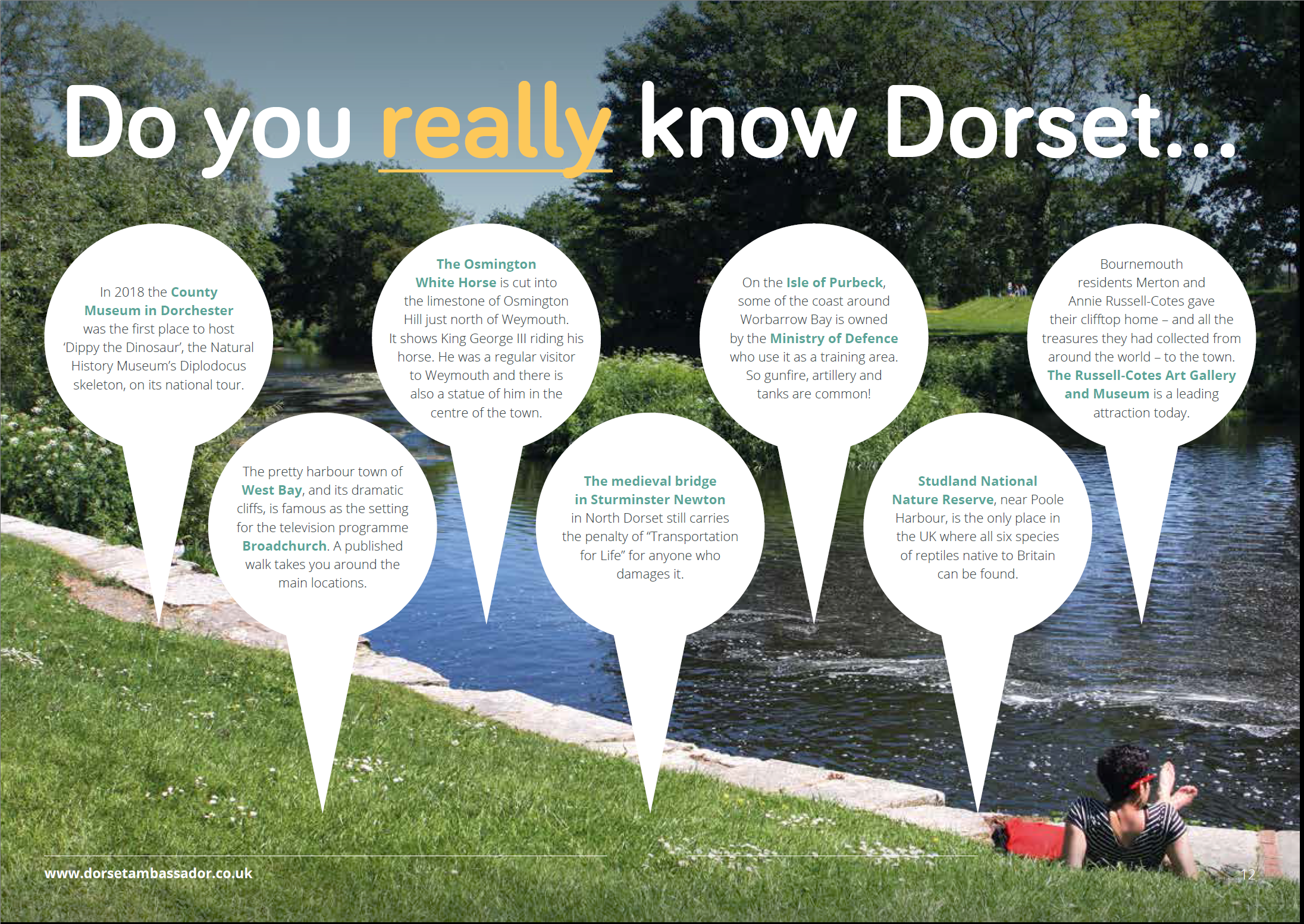 Dorset Ambassador - Do you really know Dorset