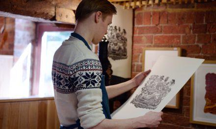 Contemporary Dorset Makers – Robin Mackenzie, illustrator and printmaker