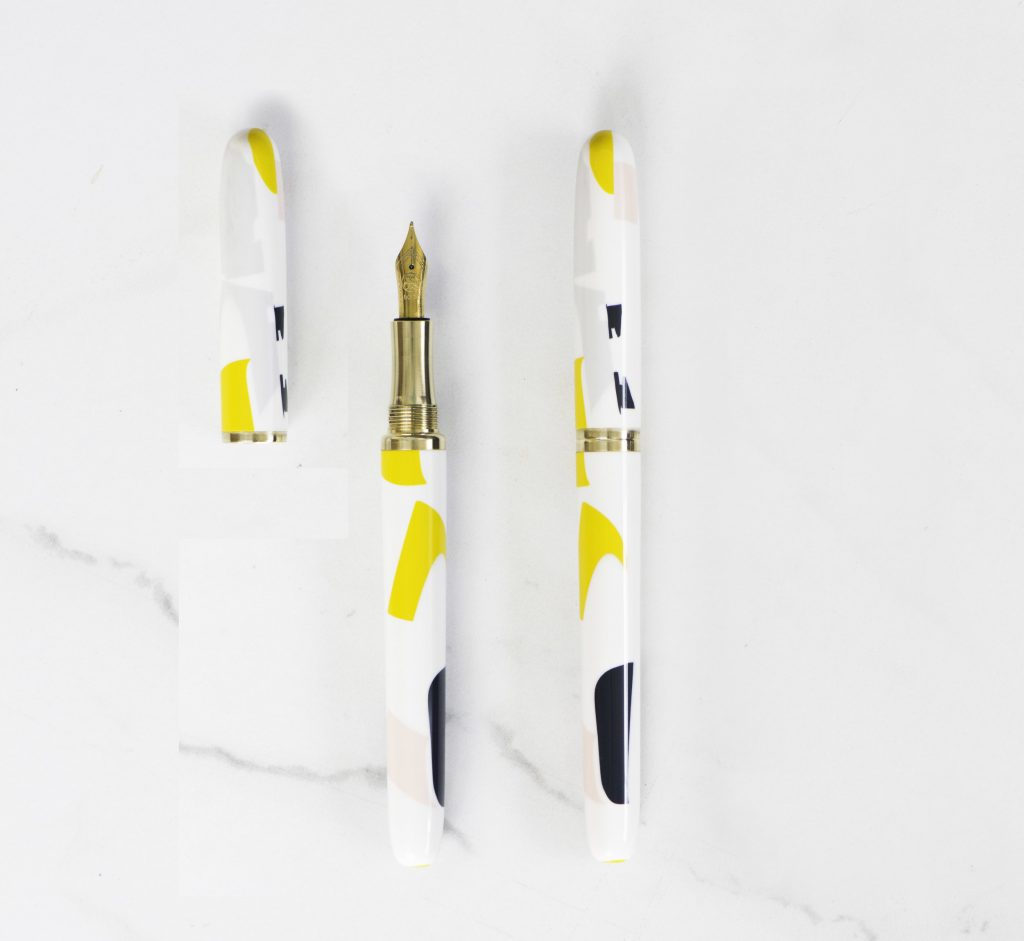 A studio pen designed in collaboration with Tom Pigeon