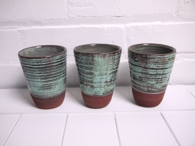 Suzette Knight set of 3 cups