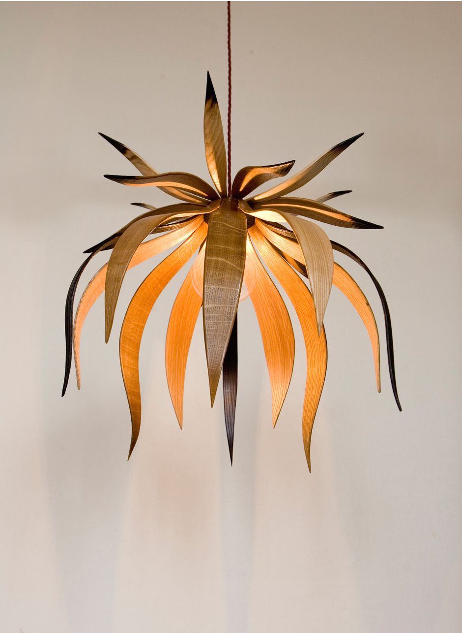Teasel Lampshade by Alice Blogg