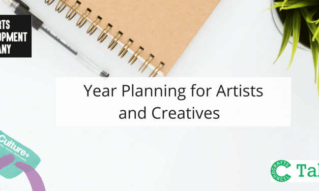 Year Planning for Artists and Makers hosted by Crafts Council UK
