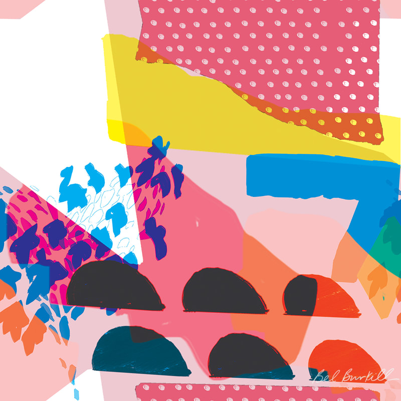Bel Burkill Abstract Print Design