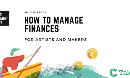 Price to Profit: How to manage your finances for artist and makers