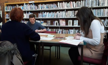 This Library is Yours: Introducing Gillingham Library's writer-in-residence Alan Ward
