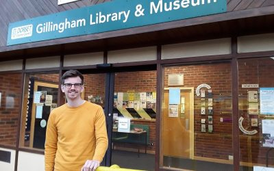Writer in residence Alan Ward reflects on his time at Gillingham Library