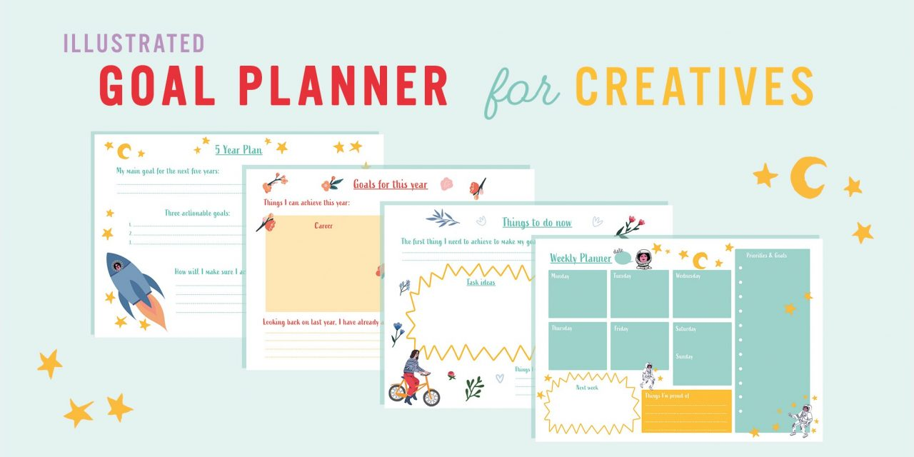 Goal planner for creatives