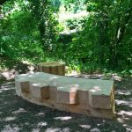 New Creative Seating along the river Lim