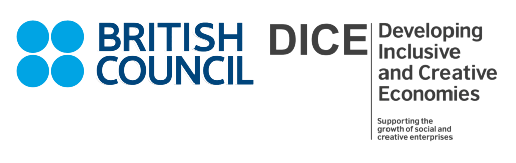 British Council Developing Inclusive and Creative Economies logo
