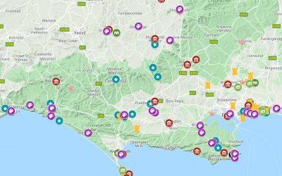 Dorset Arts and Culture Map