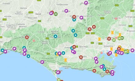 Dorset Arts and Culture Map