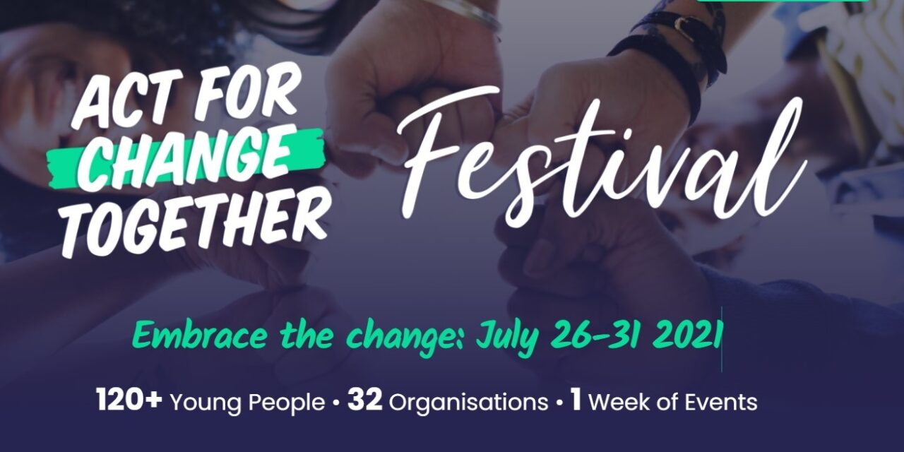 Act for Change Together Festival: Events now available to book
